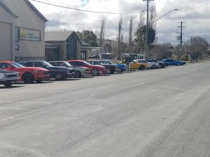 Combined Run to Gunning with the GT and Mustang Clubs